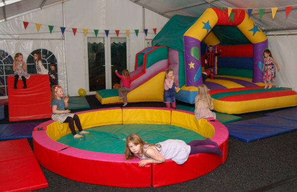 Kids playing at Bouncy Toms